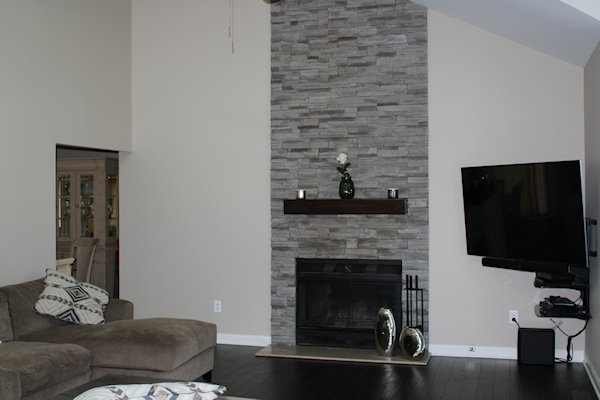3684 Kingsway Drive Living Room Fireplace Image